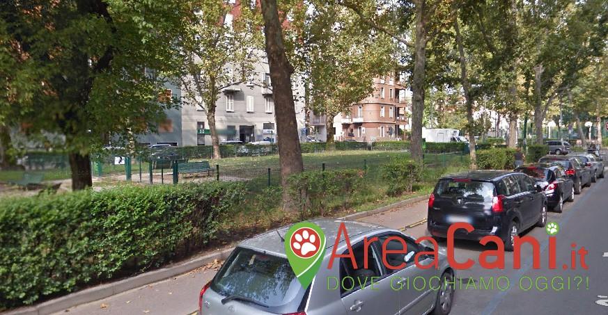 Area Cani Milano - via Dezza