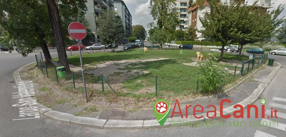 Area Cani Milano - largo San Valentino