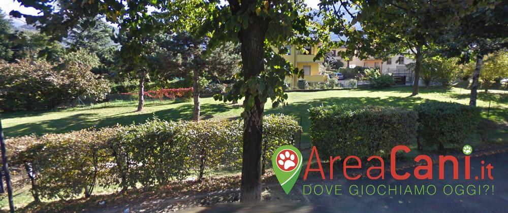 Area Cani Morbegno - via Forestale